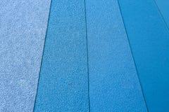 Μπλε 2 λειαντικού εγγράφου Στοκ Φωτογραφία