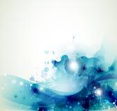 Μπλε λεκέδες Στοκ Φωτογραφίες