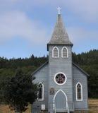 Μπλε εκκλησία Στοκ Εικόνες