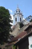 Μπλε εκκλησία DÃ ¼ rstein Στοκ φωτογραφία με δικαίωμα ελεύθερης χρήσης