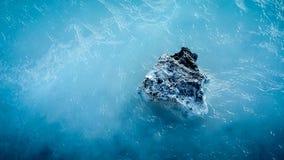 μπλε δεξαμενή χώνευσης τ&eta Στοκ Εικόνες