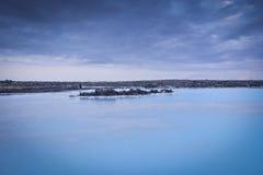 μπλε δεξαμενή χώνευσης τ&eta Στοκ φωτογραφίες με δικαίωμα ελεύθερης χρήσης