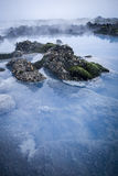 μπλε δεξαμενή χώνευσης Στοκ Εικόνα