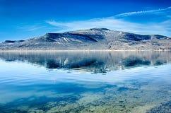 Μπλε δεξαμενή mesa στο εθνικό δρυμός Κολοράντο gunnison Στοκ εικόνες με δικαίωμα ελεύθερης χρήσης
