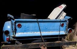 Μπλε επανάλειψη Chevy Στοκ Φωτογραφίες