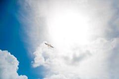 μπλε λευκό ουρανού άμμο&upsil στοκ φωτογραφίες με δικαίωμα ελεύθερης χρήσης