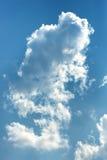 μπλε λευκό ουρανού σύννεφων Στοκ εικόνα με δικαίωμα ελεύθερης χρήσης