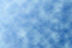 μπλε λευκό ουρανού σύννεφων Στοκ φωτογραφία με δικαίωμα ελεύθερης χρήσης