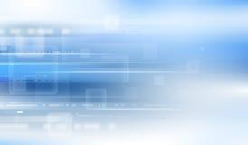 Μπλε ελαφριά σύνθεση Στοκ φωτογραφίες με δικαίωμα ελεύθερης χρήσης