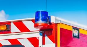 μπλε ηλεκτρικός φακός Στοκ φωτογραφία με δικαίωμα ελεύθερης χρήσης