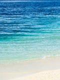 Μπλε θάλασσα ή ωκεάνιο νερό Στοκ εικόνες με δικαίωμα ελεύθερης χρήσης