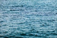 Μπλε θάλασσα νερού για το υπόβαθρο Στοκ φωτογραφία με δικαίωμα ελεύθερης χρήσης