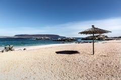 Μπλε θάλασσα νερού στη βόρεια Χιλή Στοκ φωτογραφίες με δικαίωμα ελεύθερης χρήσης