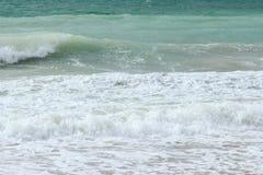 Μπλε θάλασσα - παραλία Στοκ εικόνες με δικαίωμα ελεύθερης χρήσης