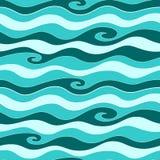 μπλε θάλασσα προτύπων Στοκ φωτογραφία με δικαίωμα ελεύθερης χρήσης