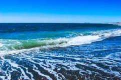 Μπλε θάλασσα της Ισπανίας Στοκ Εικόνες