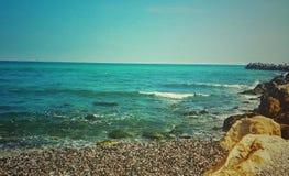 μπλε θάλασσα Στοκ φωτογραφίες με δικαίωμα ελεύθερης χρήσης