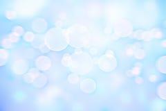 μπλε θαμπάδα ανασκόπησης Στοκ Εικόνα