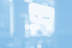 μπλε θαμπάδα ανασκόπησης Στοκ εικόνες με δικαίωμα ελεύθερης χρήσης