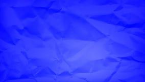 Μπλε θρυμματισμένο έγγραφο Στοκ φωτογραφία με δικαίωμα ελεύθερης χρήσης