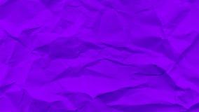 Μπλε θρυμματισμένο έγγραφο Στοκ εικόνες με δικαίωμα ελεύθερης χρήσης