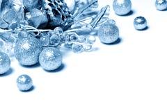 μπλε διακόσμηση Στοκ Εικόνα