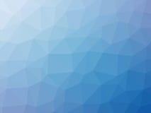Μπλε διαμορφωμένο πολύγωνο υπόβαθρο κλίσης Στοκ φωτογραφία με δικαίωμα ελεύθερης χρήσης