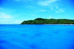 Μπλε λιμνοθάλασσα Στοκ φωτογραφία με δικαίωμα ελεύθερης χρήσης