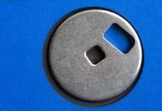 μπλε δισκέτα δίσκων Στοκ Φωτογραφία