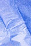 μπλε ιστός εγγράφου Στοκ Εικόνες