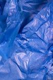 μπλε ιστός εγγράφου Στοκ Φωτογραφίες