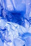 μπλε ιστός εγγράφου Στοκ εικόνες με δικαίωμα ελεύθερης χρήσης