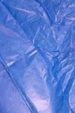 μπλε ιστός εγγράφου Στοκ Εικόνα