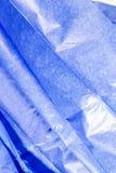 μπλε ιστός εγγράφου Στοκ εικόνα με δικαίωμα ελεύθερης χρήσης