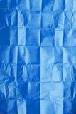μπλε ιστός σύστασης εγγράφου Στοκ Εικόνα