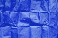 μπλε ιστός σύστασης εγγράφου Στοκ εικόνες με δικαίωμα ελεύθερης χρήσης