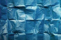 μπλε ιστός σύστασης εγγράφου Στοκ Εικόνες
