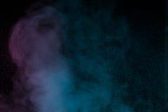 Μπλε ιώδης υδρατμός Στοκ φωτογραφίες με δικαίωμα ελεύθερης χρήσης
