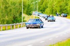 Μπλε 1966 ιδιοτροπίας Chevrolet Στοκ Εικόνα