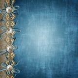 Μπλε κάλυψη λευκωμάτων ελεύθερη απεικόνιση δικαιώματος