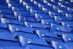 μπλε καθίσματα Στοκ φωτογραφίες με δικαίωμα ελεύθερης χρήσης