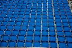 μπλε καθίσματα Στοκ εικόνες με δικαίωμα ελεύθερης χρήσης