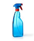 Μπλε καθαρισμός παραθύρων Στοκ εικόνα με δικαίωμα ελεύθερης χρήσης
