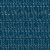 Μπλε καθιερώνον τη μόδα σχέδιο με τις κάλτσες Στοκ φωτογραφία με δικαίωμα ελεύθερης χρήσης