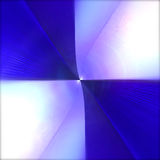 Μπλε και άσπρο ελεγμένο τετράγωνο Στοκ Εικόνες