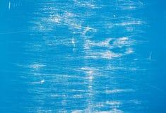 Μπλε και άσπρο ξύλο Στοκ Εικόνα