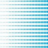 Μπλε και άσπρο σχέδιο έλλειψης Στοκ Φωτογραφίες
