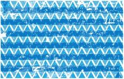Μπλε και άσπρο υπόβαθρο τριγώνων grunge Στοκ φωτογραφία με δικαίωμα ελεύθερης χρήσης