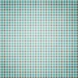 Μπλε και γκρίζο καρό Στοκ Εικόνες