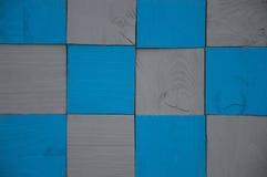 Μπλε και γκρίζο υπόβαθρο ελέγχου Στοκ φωτογραφία με δικαίωμα ελεύθερης χρήσης